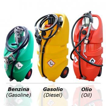 EMILCADDY® 55 литров , для дизеля/бензина , ручной насос