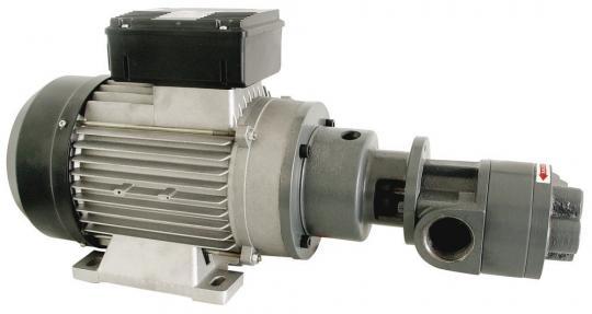 EA-65 2.2 kW 230 VAC - Шестеренчатый электронасос для смазочных материалов